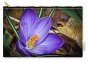 Crocus Emerging Carry-all Pouch