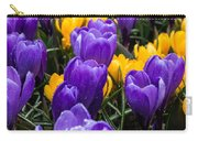 Crocuses 4 Carry-all Pouch
