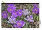 Crocuses 5 Carry-all Pouch