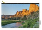 Crooked River And Monkey Face At Smith Rock Carry-all Pouch