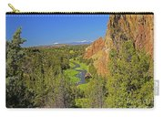 Crooked River And Mt Hood Oregon Carry-all Pouch