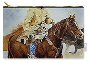 Cropped Ranch Rider Carry-all Pouch
