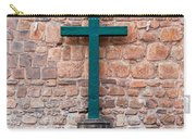 Cross And Cusco Cathedreal Carry-all Pouch