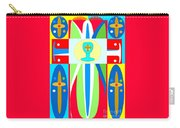 Cross Of Colors Carry-all Pouch
