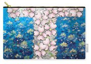 Cross Of Flowers Carry-all Pouch