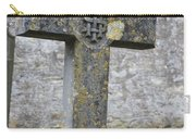 Cross Tombstone St. Mary's Wedmore Carry-all Pouch