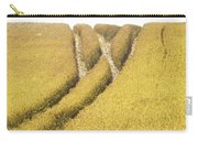 Crossed Lanes On Cornfield Carry-all Pouch