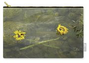 Crossed Sunflower  Carry-all Pouch