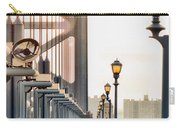 Crossing The Benjamin Franklin Bridge Carry-all Pouch
