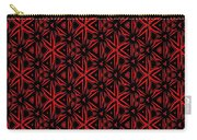 Crossing The Line Abstract  Carry-all Pouch