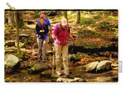 People Series - Crossing The Stream Carry-all Pouch
