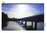 Crossing The Wisconsin River Carry-all Pouch