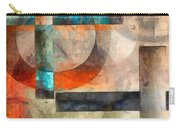 Crossroads Abstract Carry-all Pouch