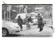 Crosswalk In Snow Carry-all Pouch