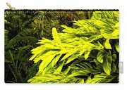 Croton Cascading Down The Hillside Carry-all Pouch