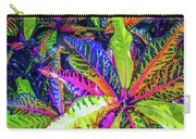 Croton Foliage Carry-all Pouch