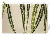 Croton Variegatum Angustifolium Carry-all Pouch