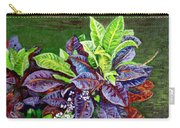 Crotons 2 Carry-all Pouch