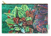 Crotons 3 Carry-all Pouch