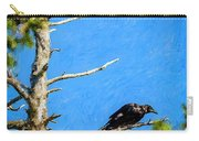 Crow In An Old Tree Carry-all Pouch