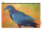 Crow In The Grass 7 Carry-all Pouch