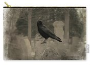 Crow In The Old Graveyard Mix Carry-all Pouch