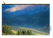 Crow On A Mountainside Carry-all Pouch