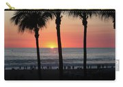 Crowd At Sunset Carry-all Pouch