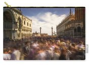 Crowded On St. Mark's Square Carry-all Pouch
