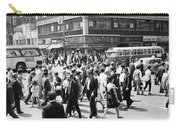 Crowded Street, Nyc, C.1960s Carry-all Pouch