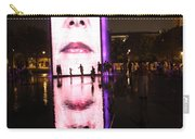 Crown Fountain Reflections Carry-all Pouch
