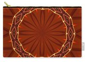 Crown Of Thorns Carry-all Pouch by Kristin Elmquist