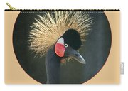 Crowned Crane - Naturally Blonde - Transparent Carry-all Pouch