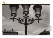 Crowned Luminaires In Paris Carry-all Pouch