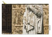 Crowned Statue - Toledo Spain Carry-all Pouch