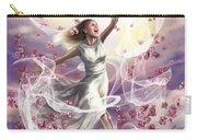 Crowned With Glory... Dancing In Glory Carry-all Pouch by Tamer and Cindy Elsharouni