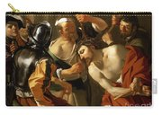Crowning With Thorns Carry-all Pouch by Dirck van Baburen