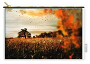 Crows And Corn Carry-all Pouch