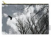 Crows In Cottonwoods Carry-all Pouch