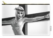 Crucifix Portrait I Carry-all Pouch