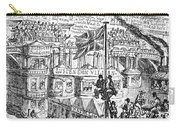 Cruikshank: London, 1851 Carry-all Pouch