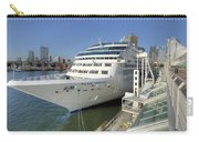 Cruise Ship At Canada Place Carry-all Pouch