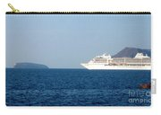 Cruise Ship Departing 2 Carry-all Pouch