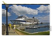 Cruise Ship In Bermuda Carry-all Pouch