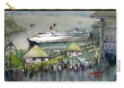 Sitting In The Dock Of The Bay, Kingstown, St Vincent  Carry-all Pouch