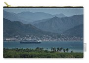 Cruise Ship Leaving Banderas Bay Puerto Vallarta Mexico With Sie Carry-all Pouch