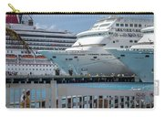 Cruise Ship Trio Carry-all Pouch
