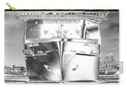 Cruise Ships In Chrome Carry-all Pouch