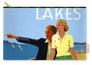 Cruise The Great Lakes Vintage Travel Poster Carry-all Pouch