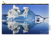 Cruising Between The Icebergs, Greenland Carry-all Pouch